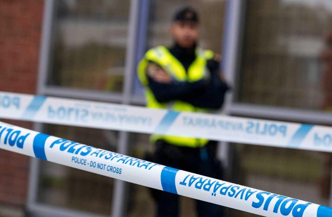 """Tre personer har gripits av polisen i Göteborg i en operation i samarbete med dansk polis rörande """"särskilt komplicerad och gränsöverskridande kriminalitet"""". Arkivbild."""