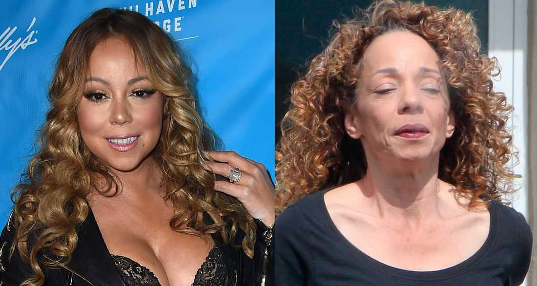 Mariah och Alison Carey.