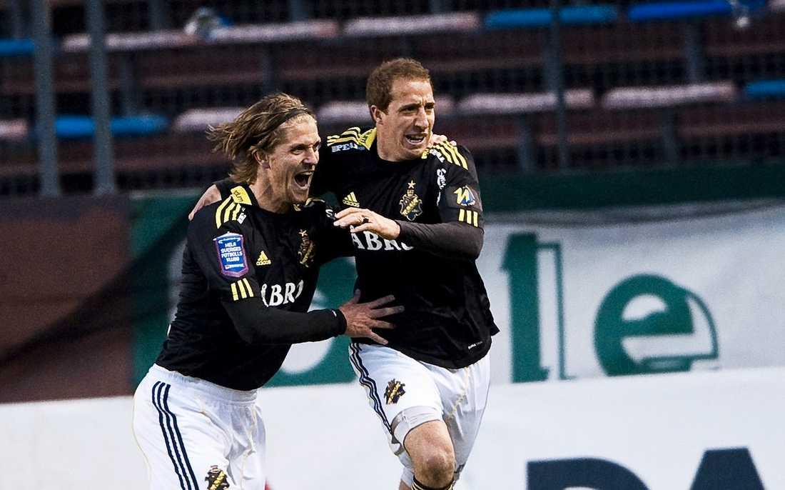 matchvinnare Kenny Pavey har ett stort AIK-hjärta, och enligt Erik Niva är han AIK:s kanske viktigaste spelare.