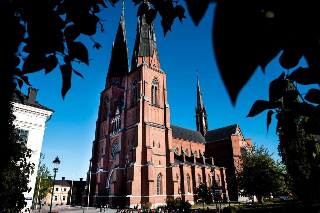 Domkyrkan i Uppsala. Arkivbild.