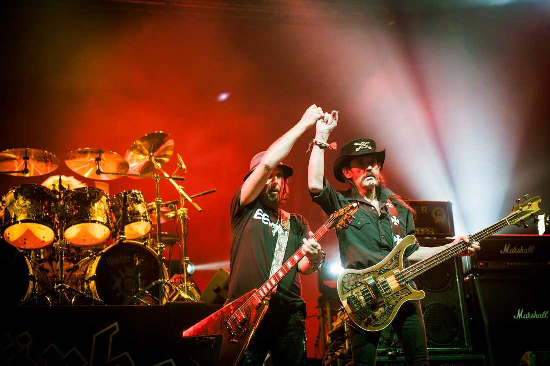 Sista spelningen i Sverige på Scandinavium 4 december 2015.