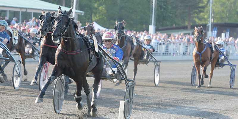 Eldorado B. och Torbjörn Jansson vann V75–7 och gjorde vinsten till ett faktum för kompisarna och familjen.