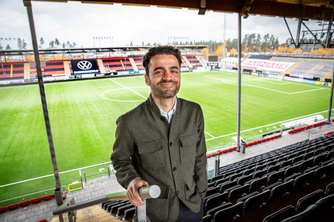 Amir Azrafshan på Jämtkraft arena.