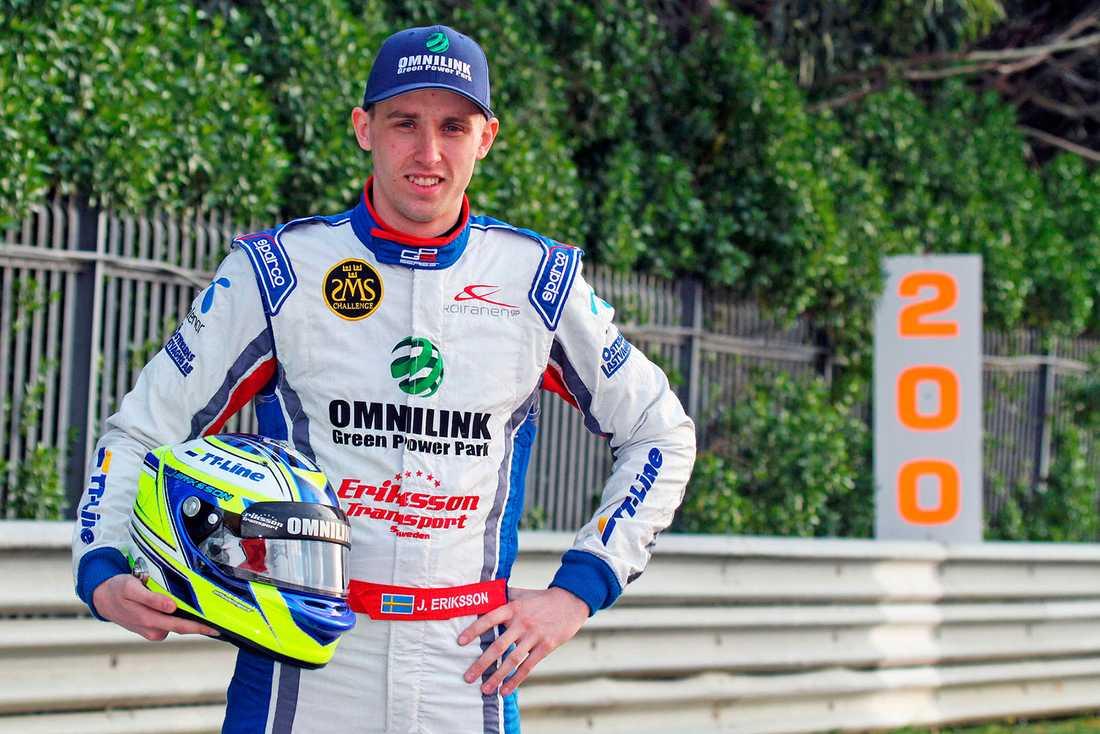 Jimmy Eriksson har kört GP3 i år.