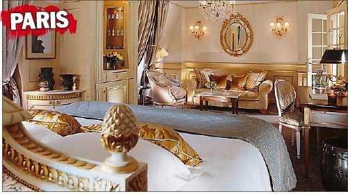 ...Le Meurice i Paris i början av juni förra året.