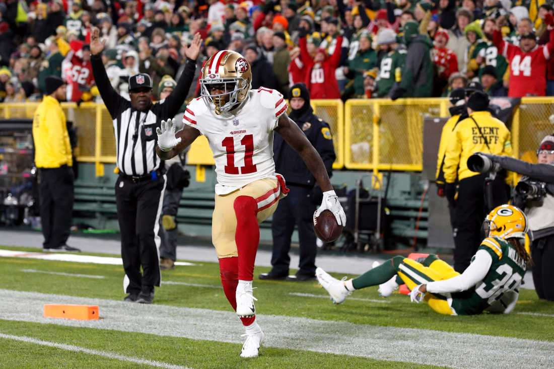 Marquise Goodwin i NFL.