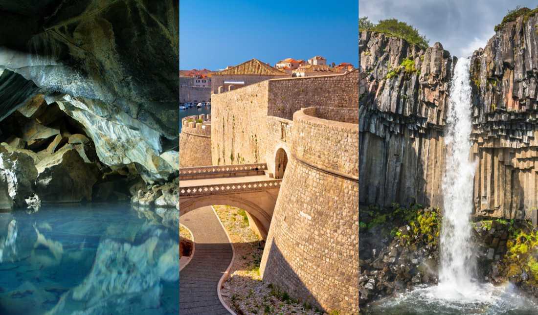 I Europa finns flera inspelningsplatser för Game of thrones.