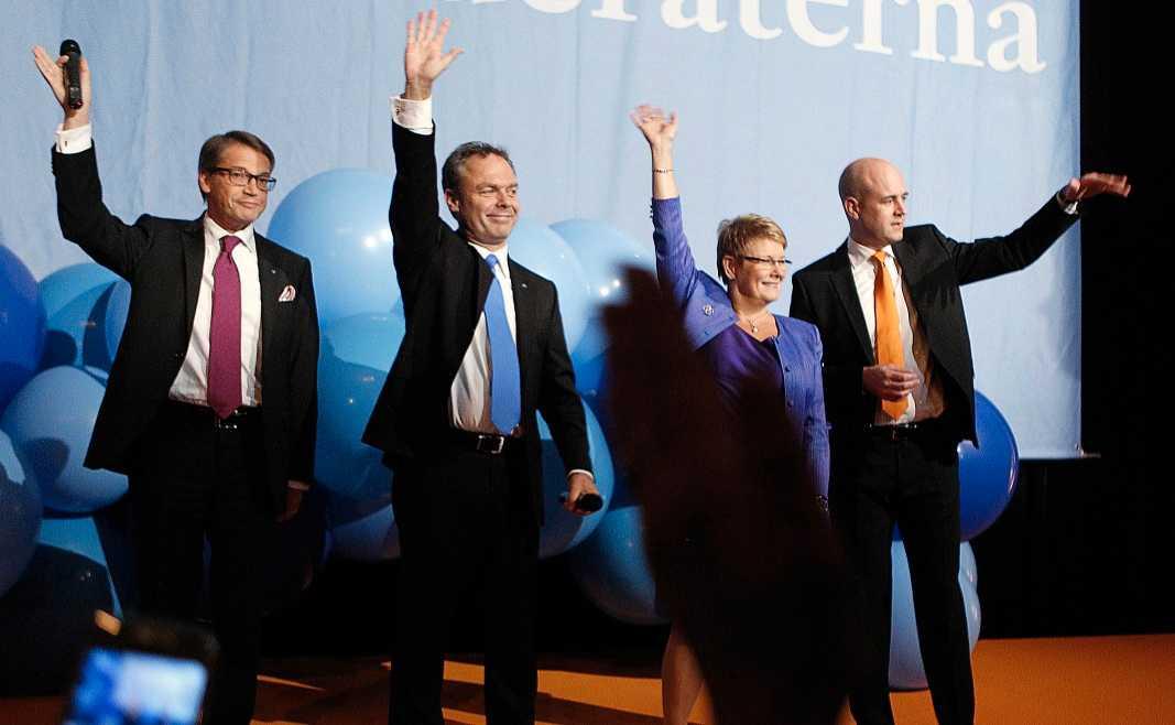 PÅ FALLREPET?  Ett knappt år efter valet 2010 tycks Alliansens samarbete på väg att krackelera.