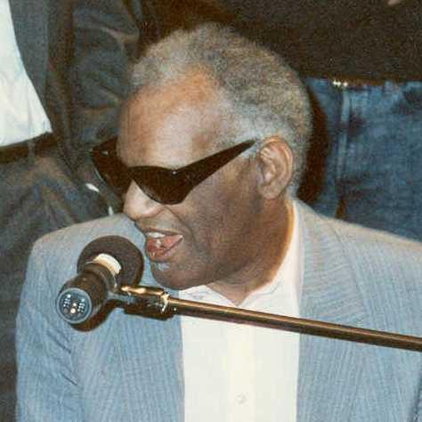12 Ray Charles.
