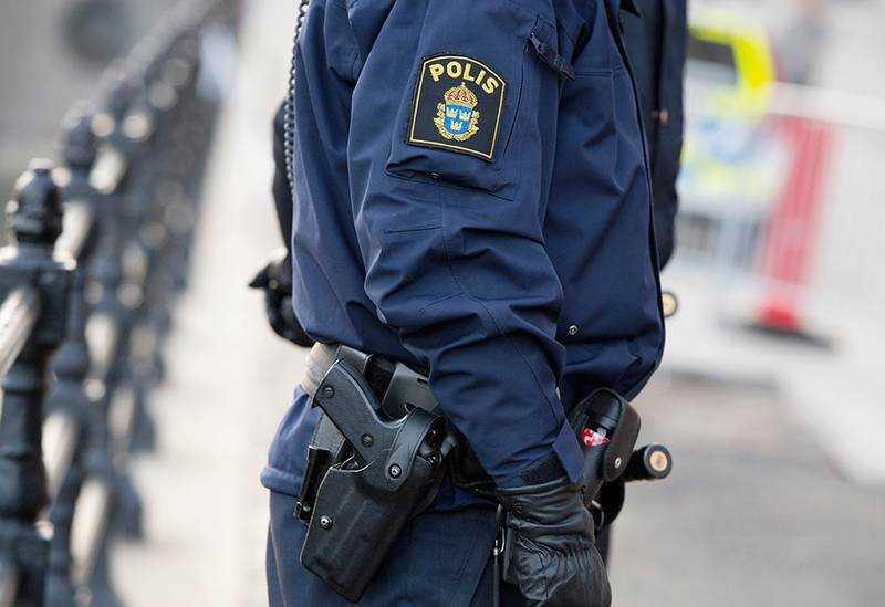Polisen utreder händelsen.