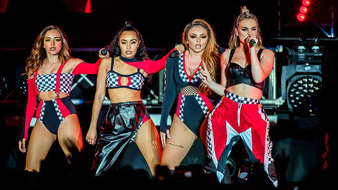 Little Mix i Sverige 2017.