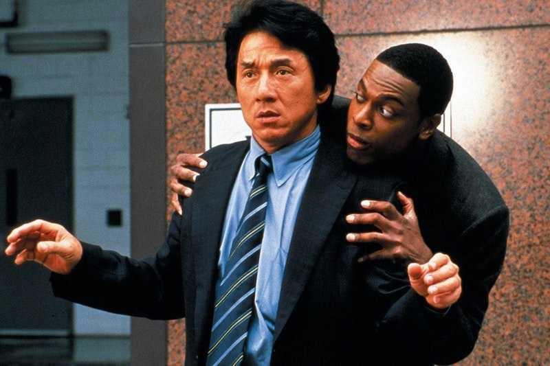 "Jackie Chan och Chris Tucker i en tidigare ""Rush hour""-film."