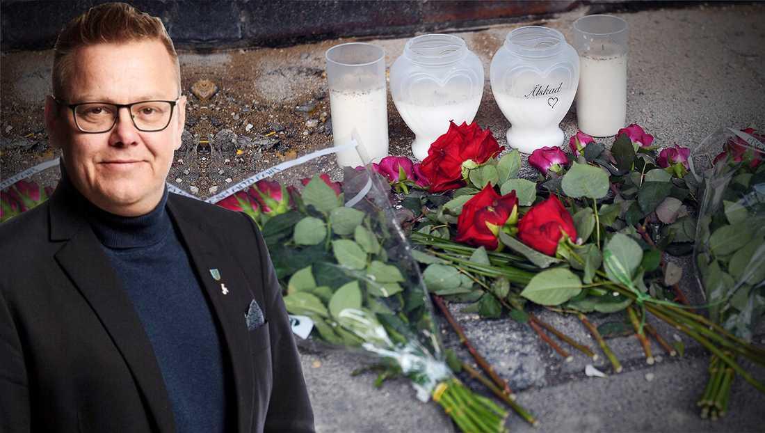 Våldet i Malmö har blivit grovt och många medborgare reagerar knappt längre på det, skriver debattören.