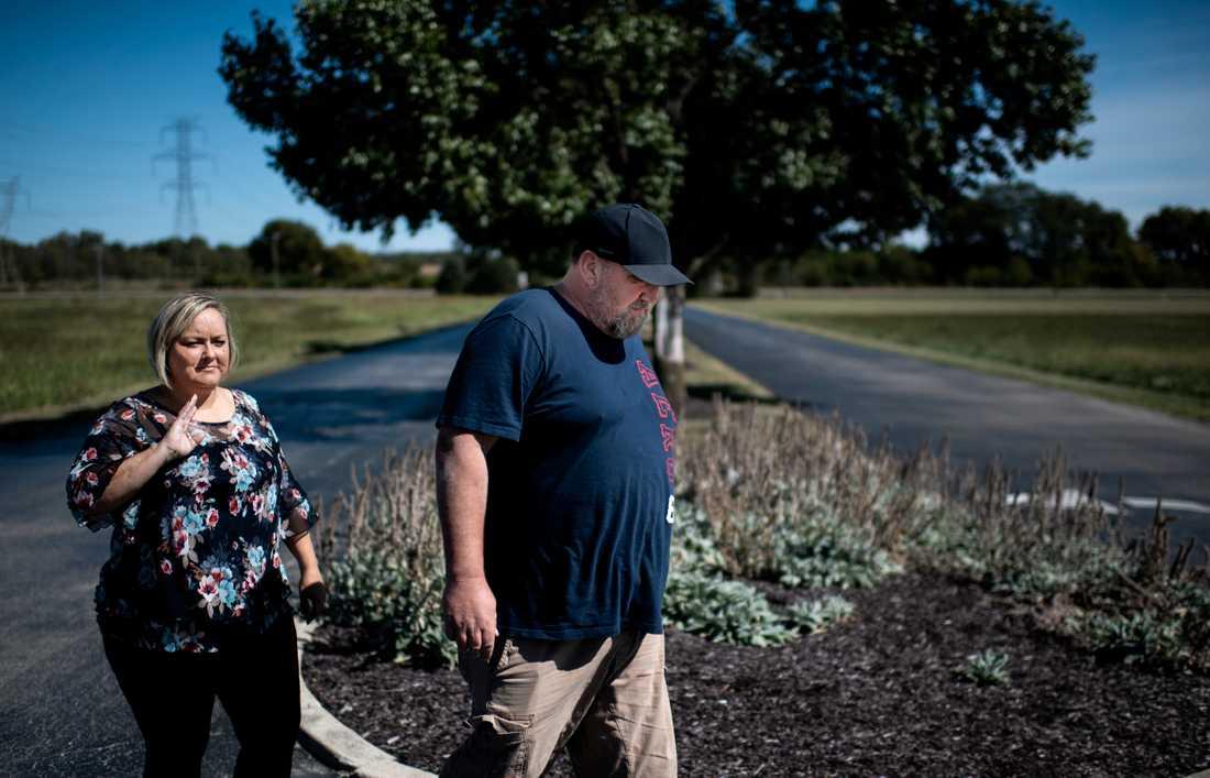 Paret Bob och Stacey Wiggins i Ohio kämpade i många år mot sitt opioidberoende – som började med att deras läkare skrev ut smärtstillande läkemedel.