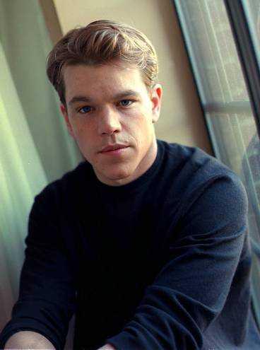 Matt Damon hade ätstörningar.