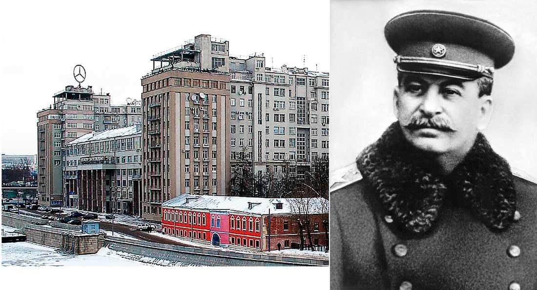 Byggnaden för Sovjets högsta tjänstemän står kvar än i dag vid Moskvas flodbank. Stalin lät under utrensningarna avrätta 340 av dess invånare.