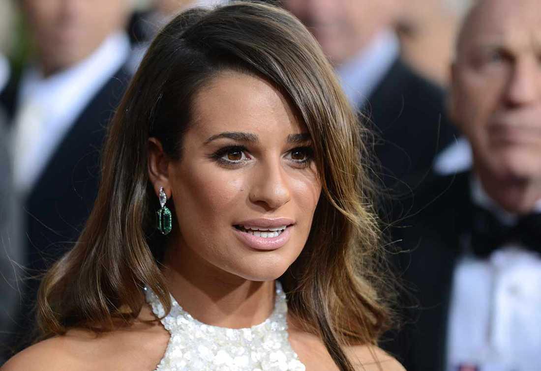 Flickvännen Lea Michele.