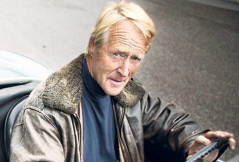 Göran Zachrisson, tv-kommentator - och stor golfprofil.