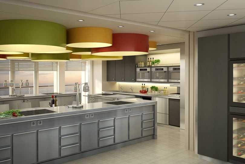 Ombord på MS Europa 2 erbjuds matlagningskurser med sann hemkunskaps-känsla.