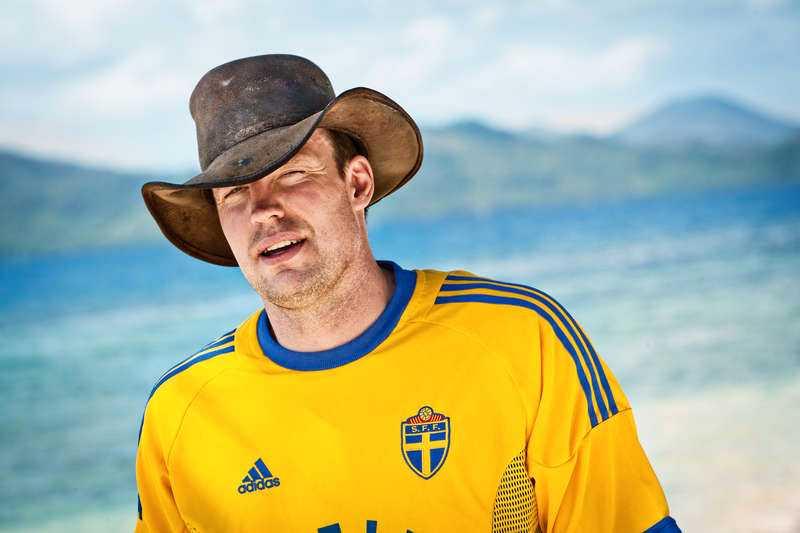 """Robinson-Leif"" Svensson tackade ja."