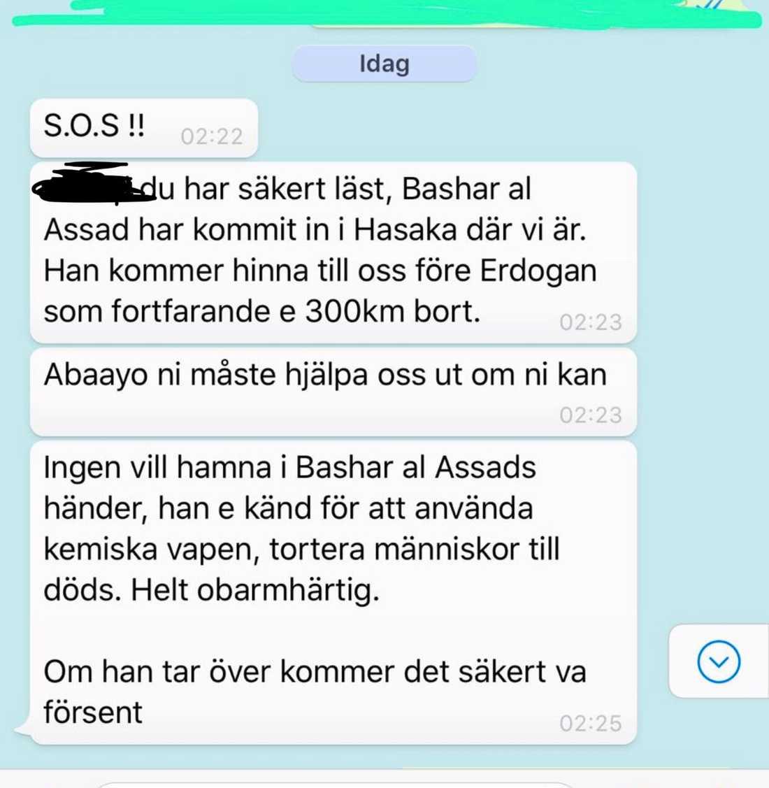 Svenska kvinnans sms.