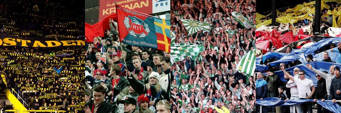I dag lägger sig tystnaden över svenska fotbollsarenor.