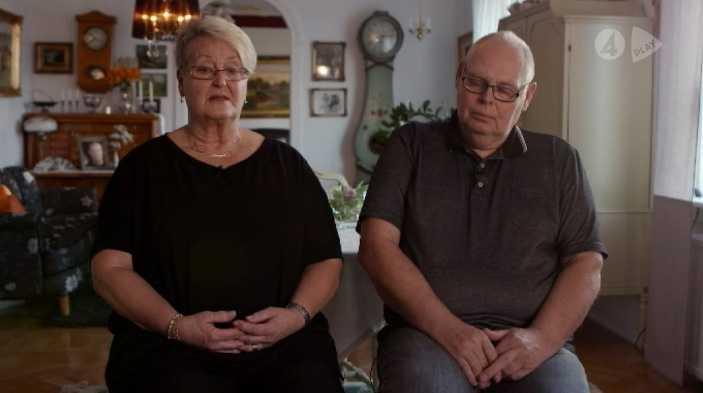 Ingessons föräldrar, Lillemor och Leif medverkar i dokumentären.