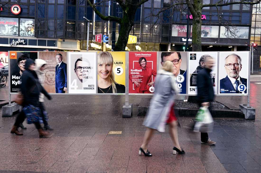 Riksdagsledamöterna i Finland är för gamla, tycker 19-åriga Joar Cederberg.