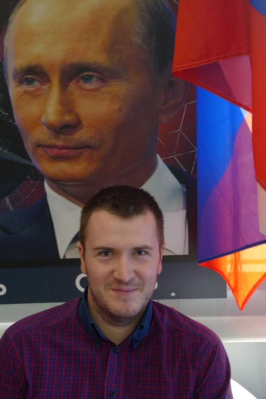 Makar Vikhliantsev.