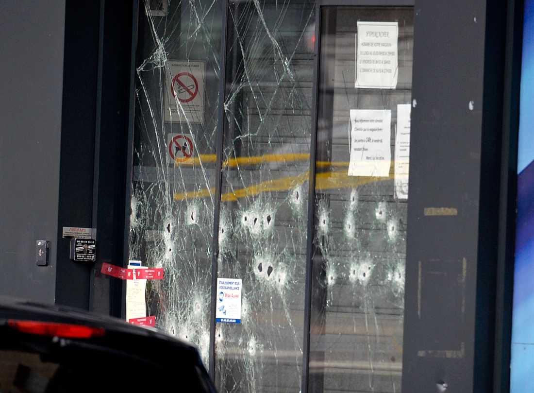 Kosherbutiken dagen efter gisslandramat.