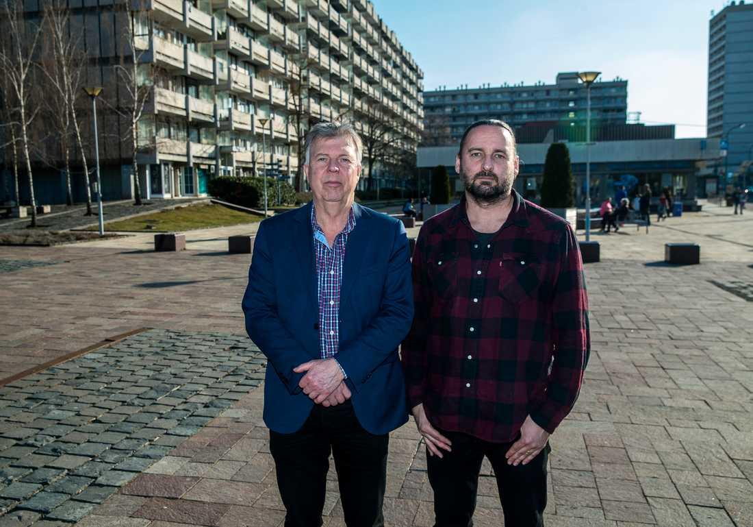 Aftonbladets Wolfgang Hansson och Stefan Jerrevång på plats i Ungern.