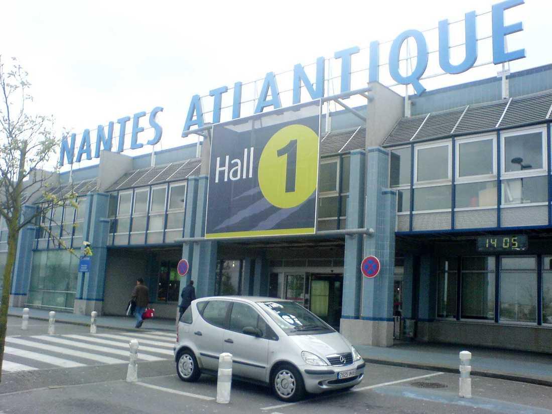 Flygplatsen i Nantes, Frankrike.
