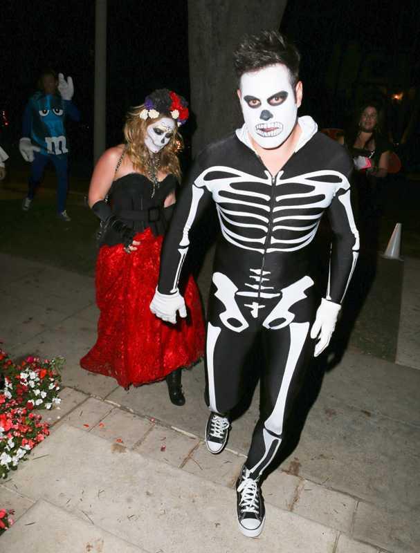 Hilary Duff och maken Mike var läskiga i Hollywood.