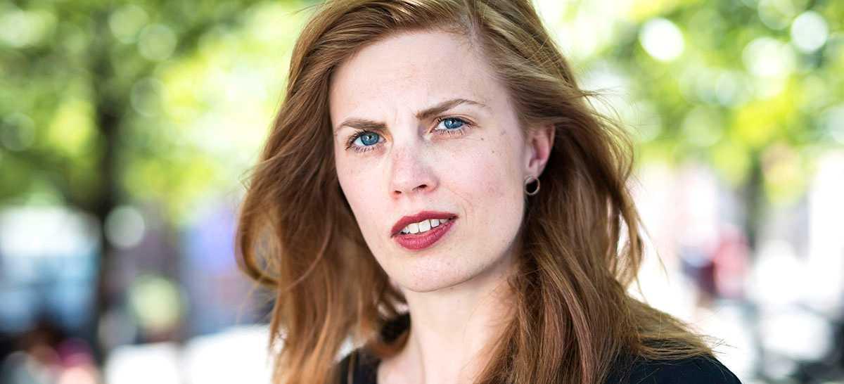 """Lydia Sandgren debuterade i våras med """"Samlade verk"""", som nu trycks i en fjärde upplaga."""