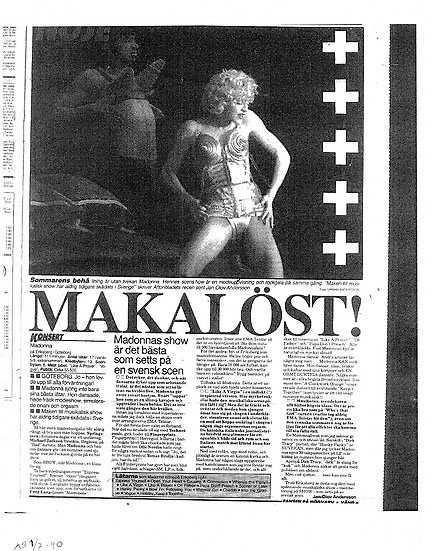 Aftonbladet 1990.