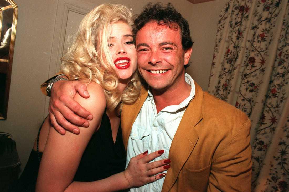 Anna Nicole Smith kramar om Olof Brundin 1995.