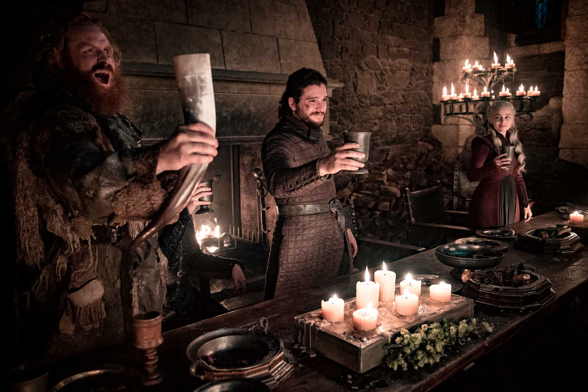 """Game of thrones"" fick hela 32 Emmynomineringar. Pressbild."
