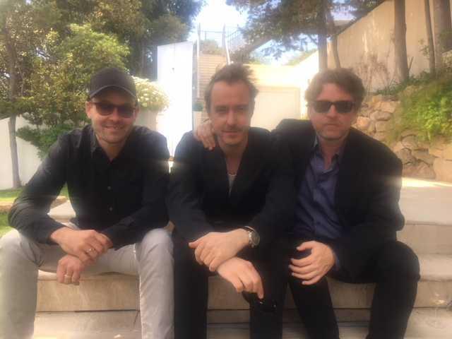 David Dencik, Jonas Karlsson och Mikael Håfström och ska spela in film om Sture Bergwall.