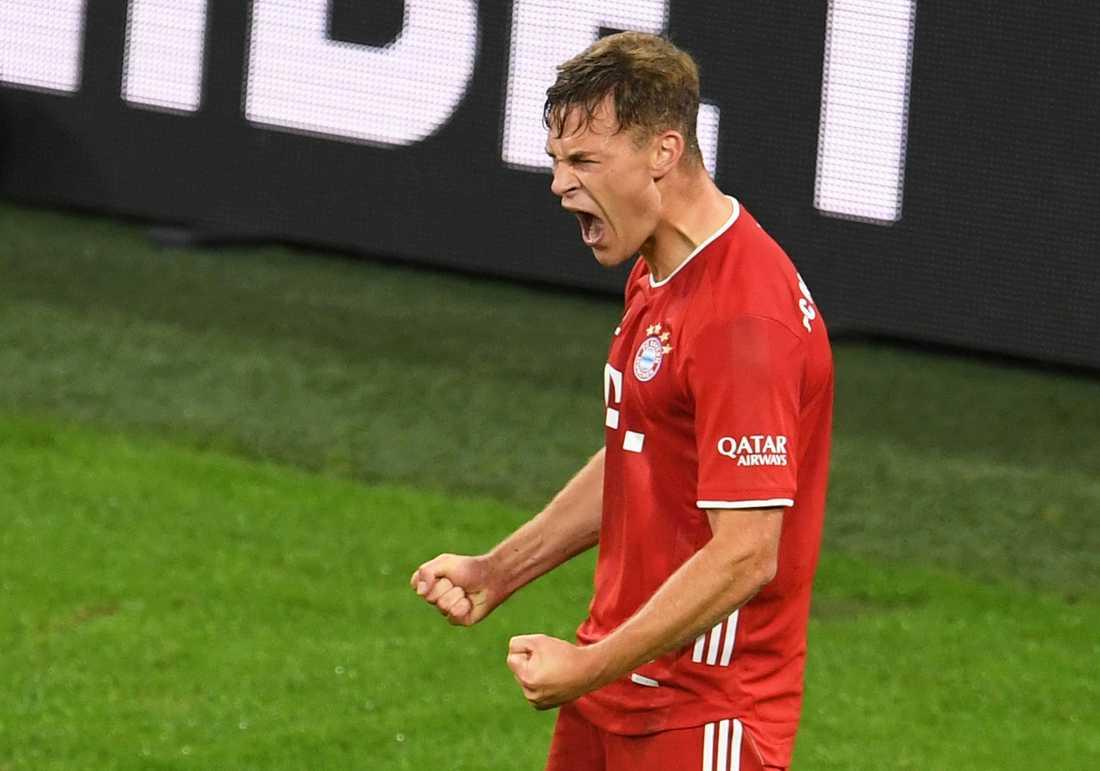 Joshua Kimmich, viktig defensiv mittfältare i Bayern München. Arkivbild.