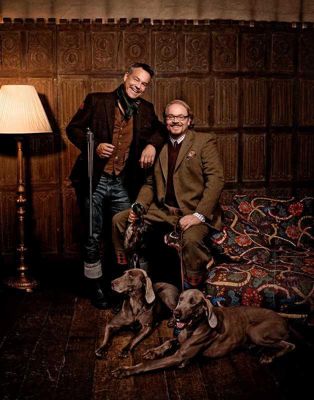 Henrik Schyffert och Fredrik Lindström. Foto: Morgan Norman