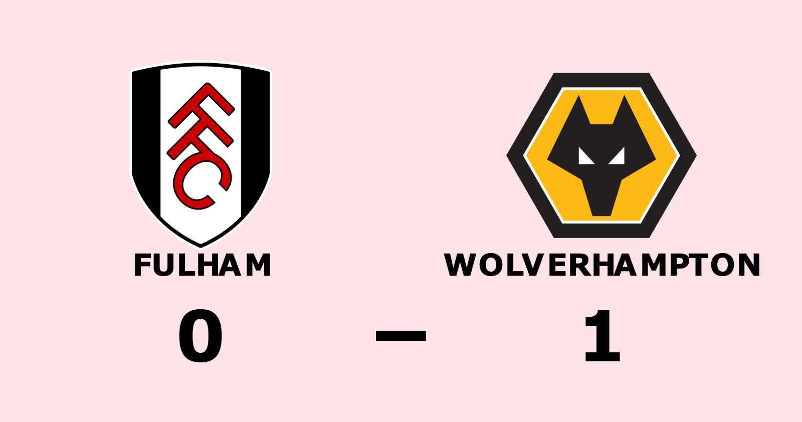 Wolverhampton vann efter fem matcher i rad utan seger