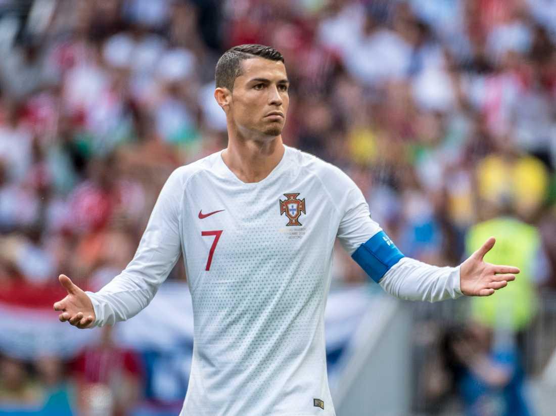 Cristiano Ronaldo anklagas för att ha våldtagit en kvinna i Las Vegas 2009.