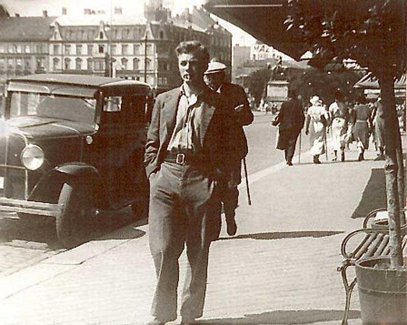 Bengt Segerström i Hälsingborg, 1931.
