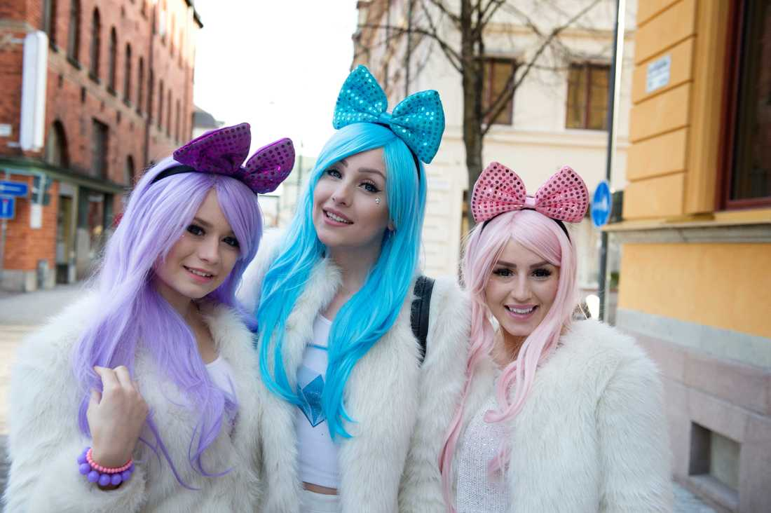 """Marielle """"Polly"""" Myhrberg (längst till vänster) har lämnat Dolly Style. I mitten Alexandra """"Holly"""" Salomonsson och längst till höger Mikaela """"Molly"""" Samuelsson."""