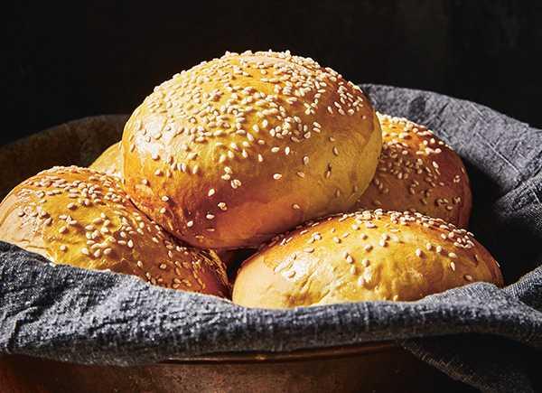 Sötpotatis i brödet.