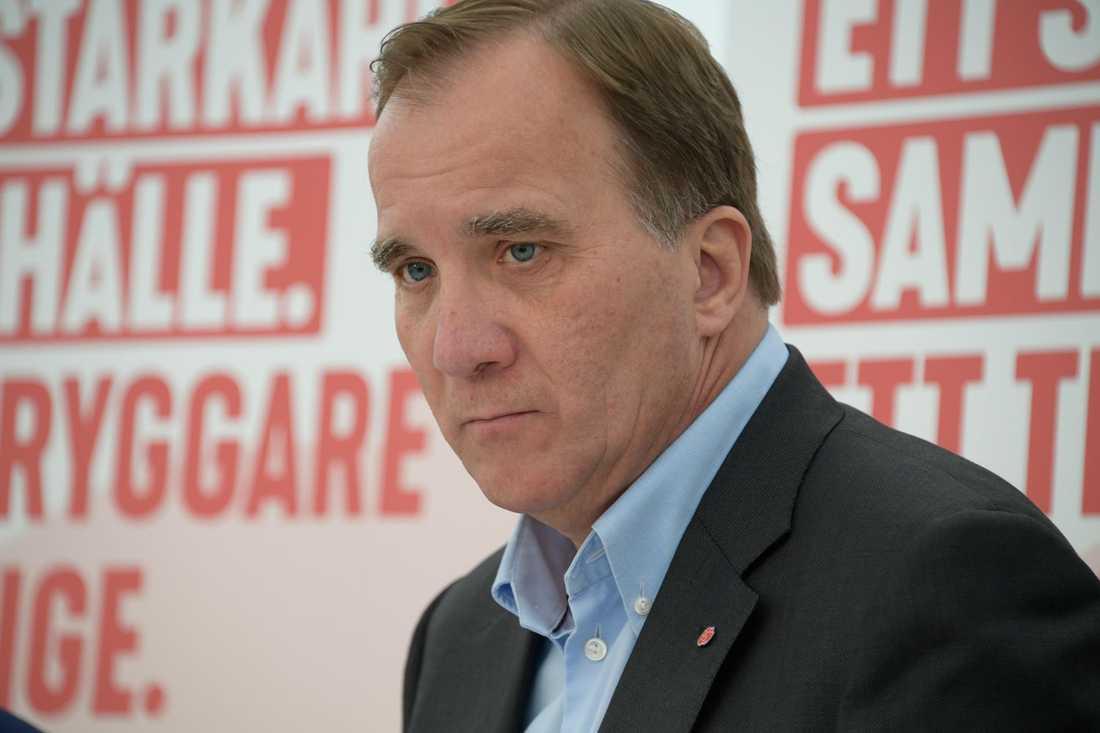 Stefan Löfven under Järvaveckan.