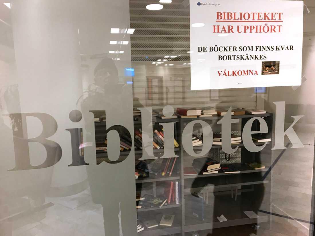 Skylten på Sankt Görans sjukhus i Stockholm är ett tecken på nyfattigdomen i vårt land.