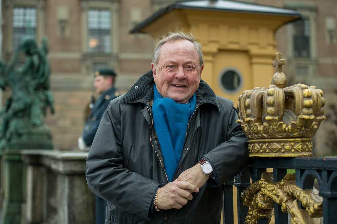 Sten Hedman, hovreporter.