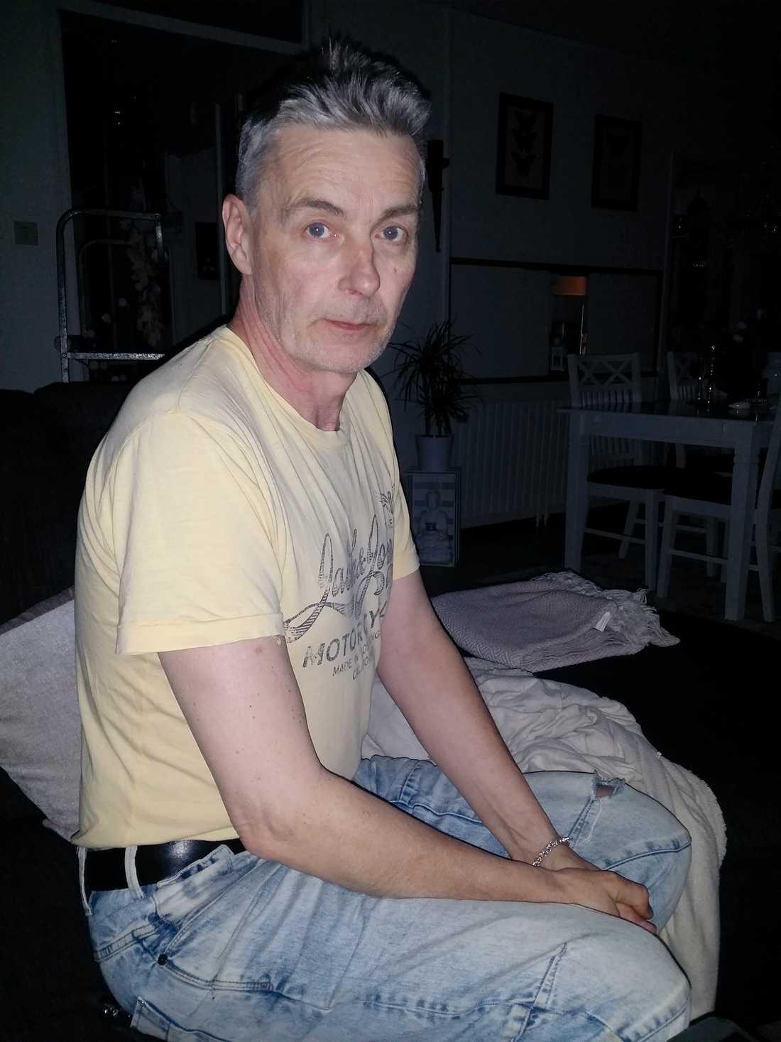 Fredriks pappa Tommy Jansson.
