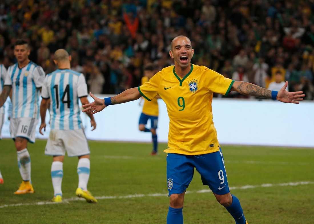 Diego Tardelli  i det brasilianska landslaget.